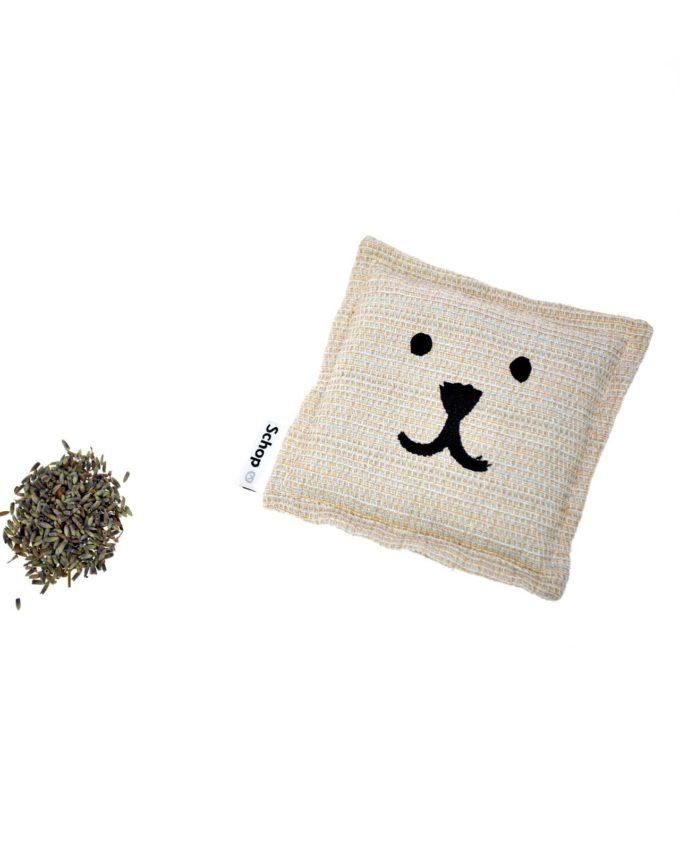 Schop_coussin-mini-bouboule-pochette lavande coton